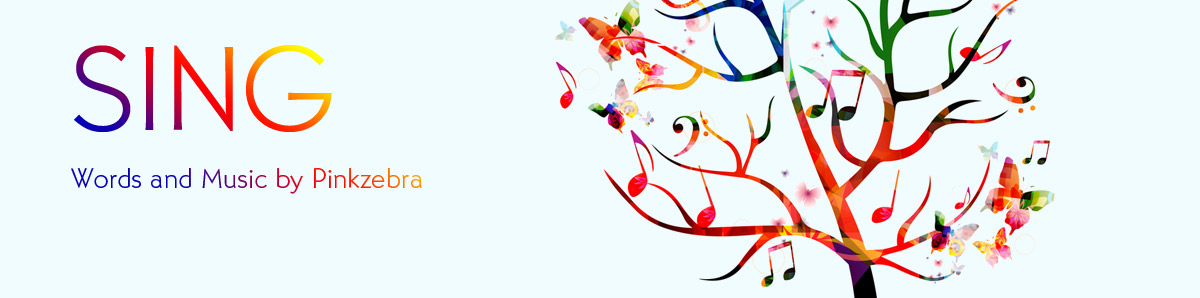 Sing - choral accompaniment - Pinkzebra Music